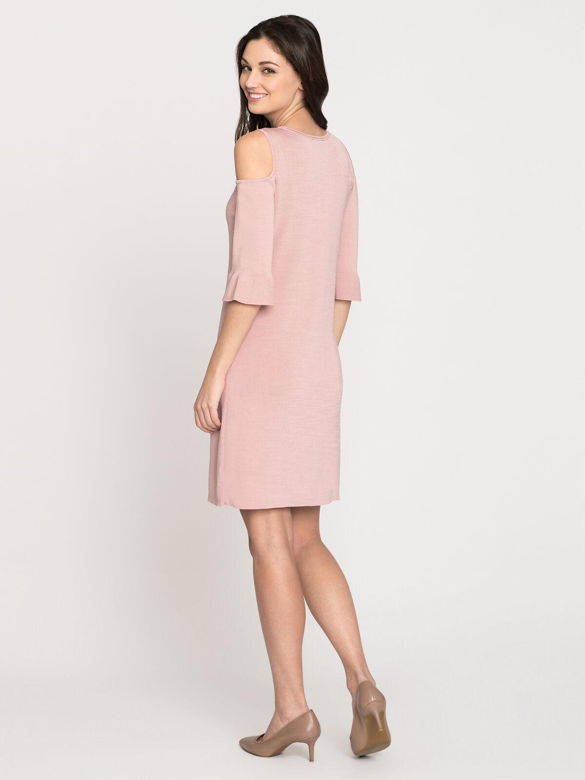 Pointelle Pattern Dress