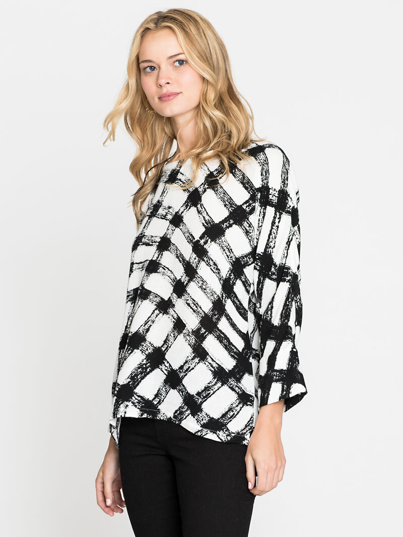 Checkered Top image number 2