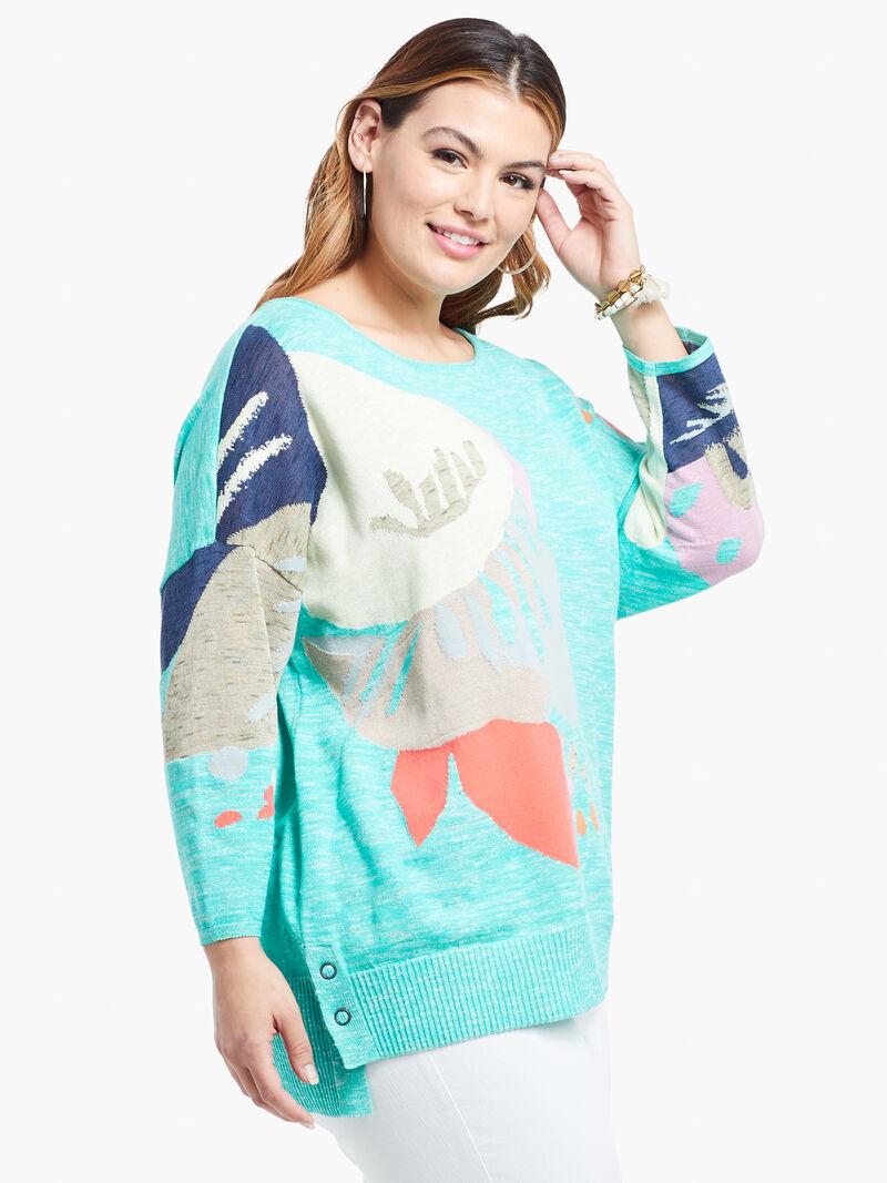 Petal Burst Sweater image number 1