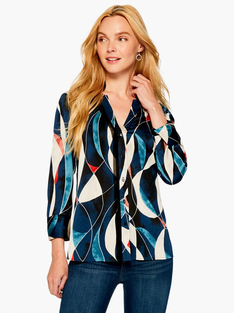 Blue Waves Shirt