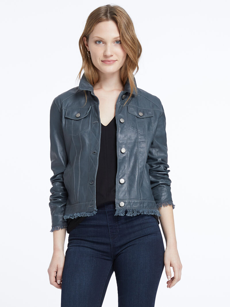 Jakett Washable Leather Jacket