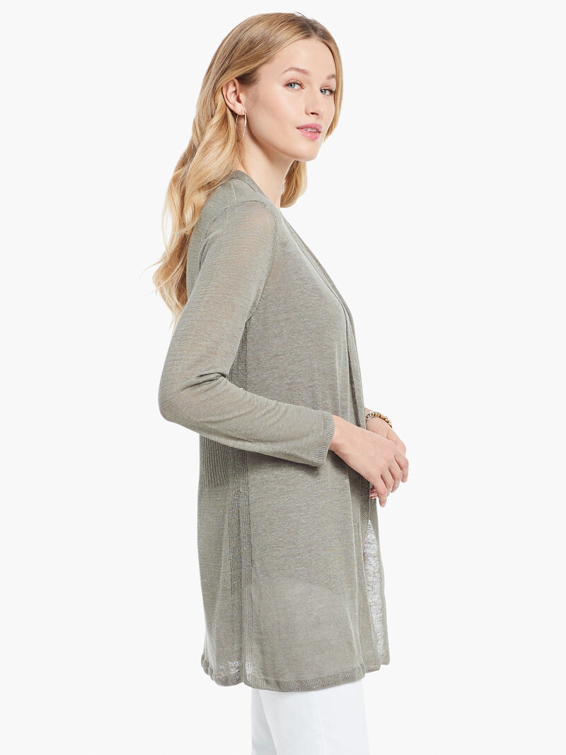 Lightweight Long Back of the Chair Cardigan image number 1