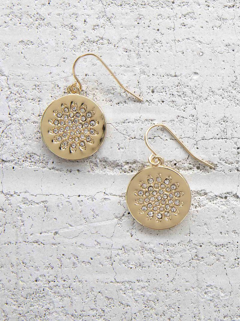 Marlyn Schiff Starburst Disc Earring image number 0