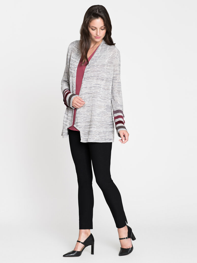 Ombre Cuff Cardigan image number 3