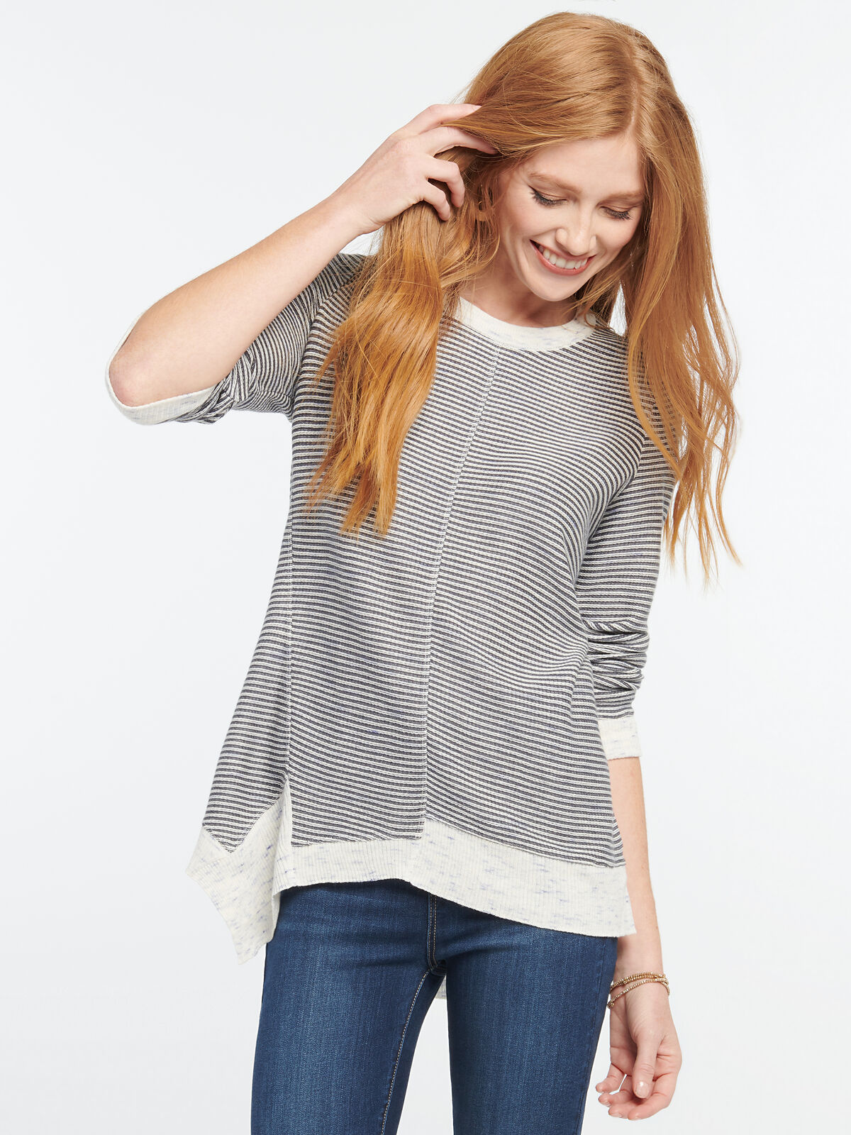 Striped Spring Fling Sweater