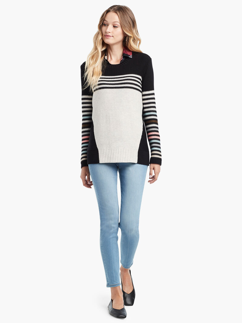 Inner Stripe Sweater image number 4