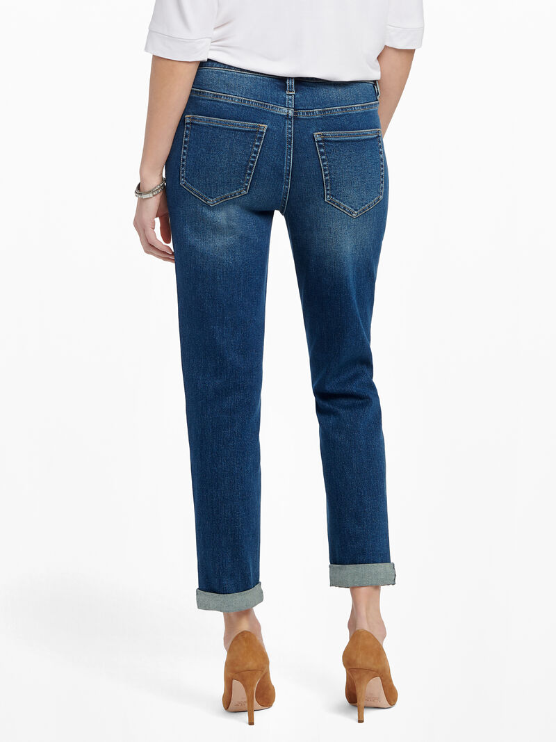 Liverpool Marley Girlfriend Roll Cuff Jean image number 3