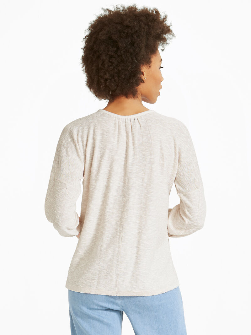 Etched Florals Sweater image number 2