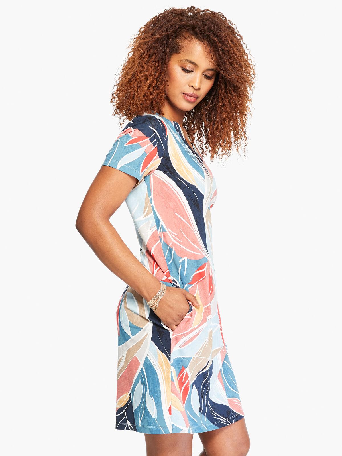 Breezy Leaves Dress