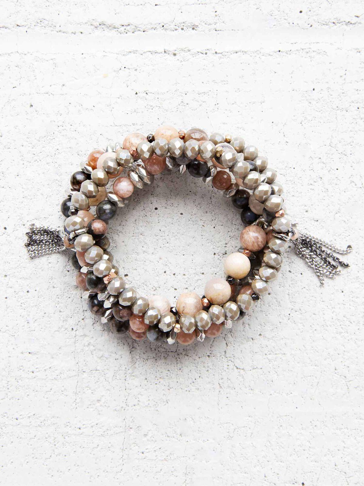 Nakamol Beaded Stretch Bracelet