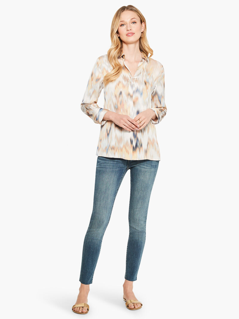 Dreamy Ikat Blouse image number 3