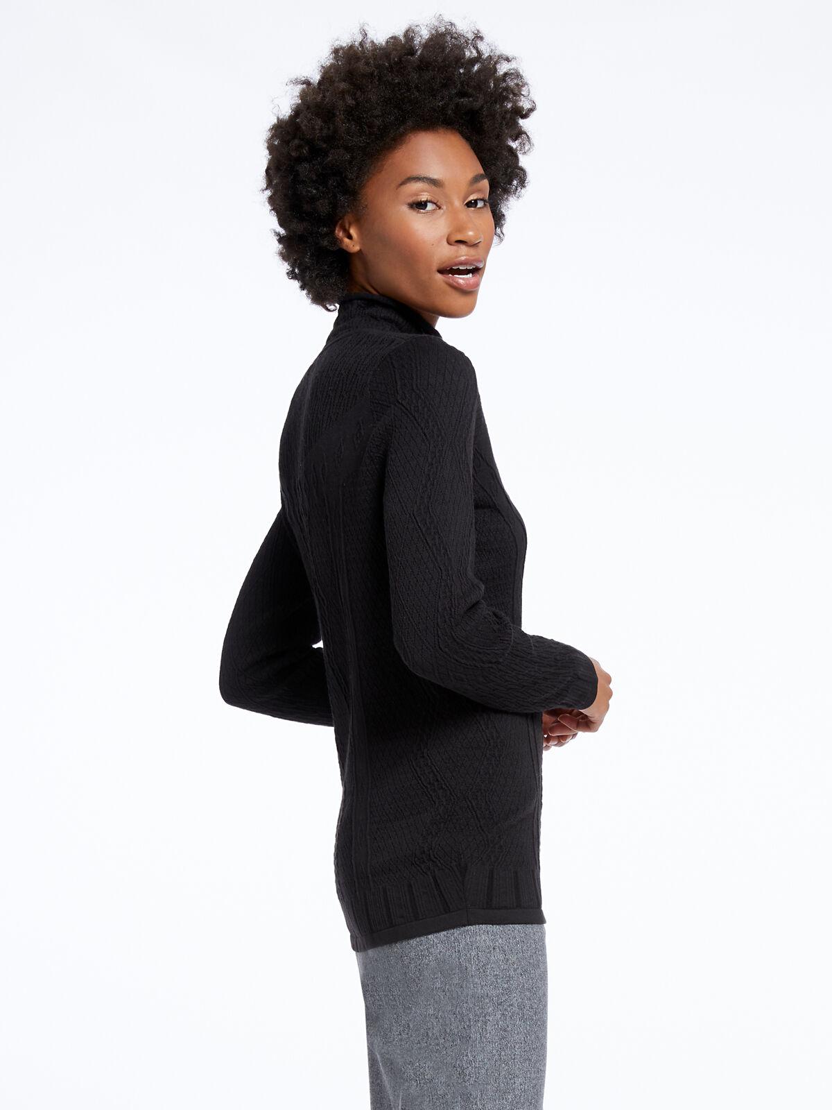 Flash Turtleneck Sweater