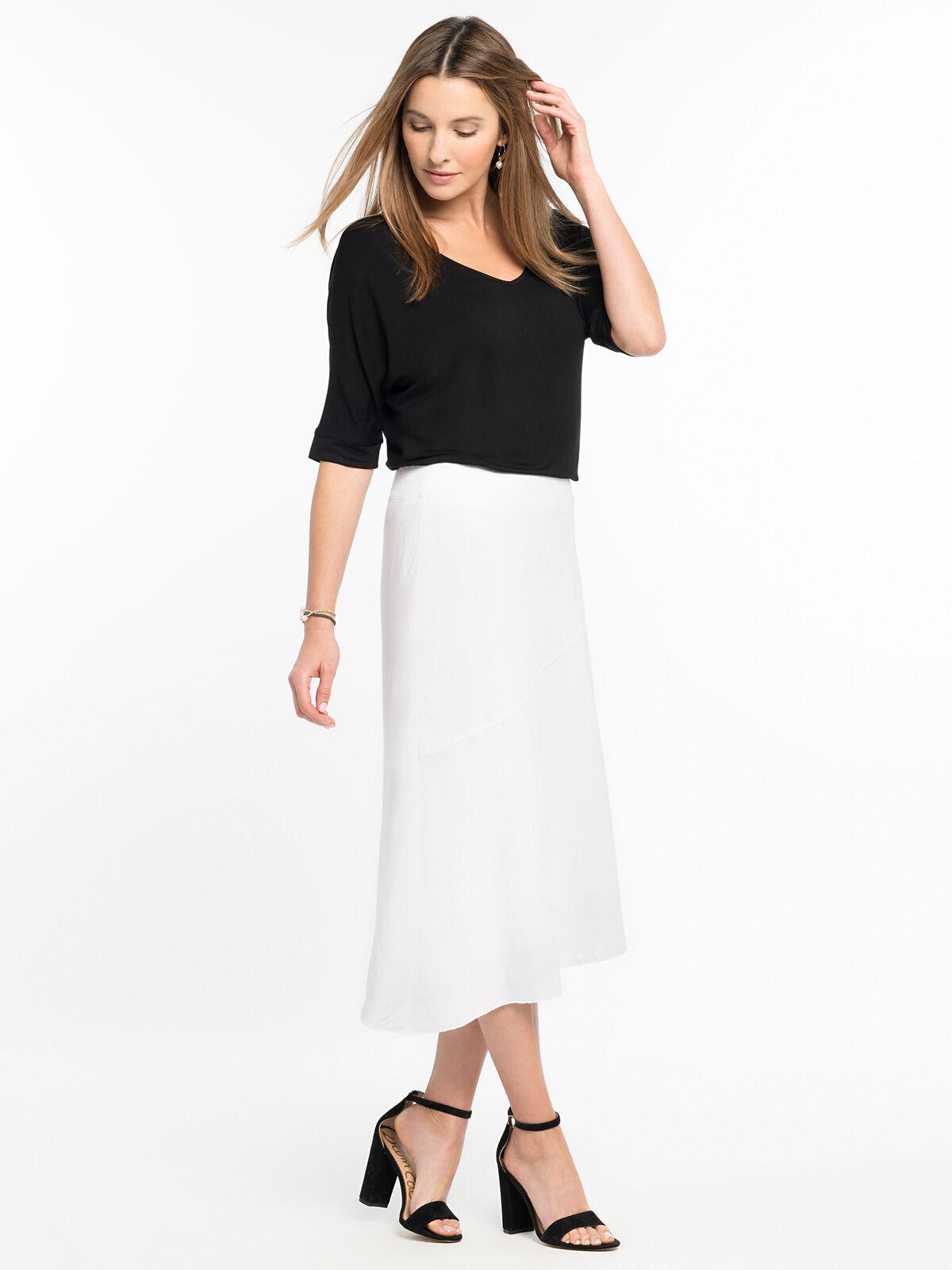 In Season Linen Skirt