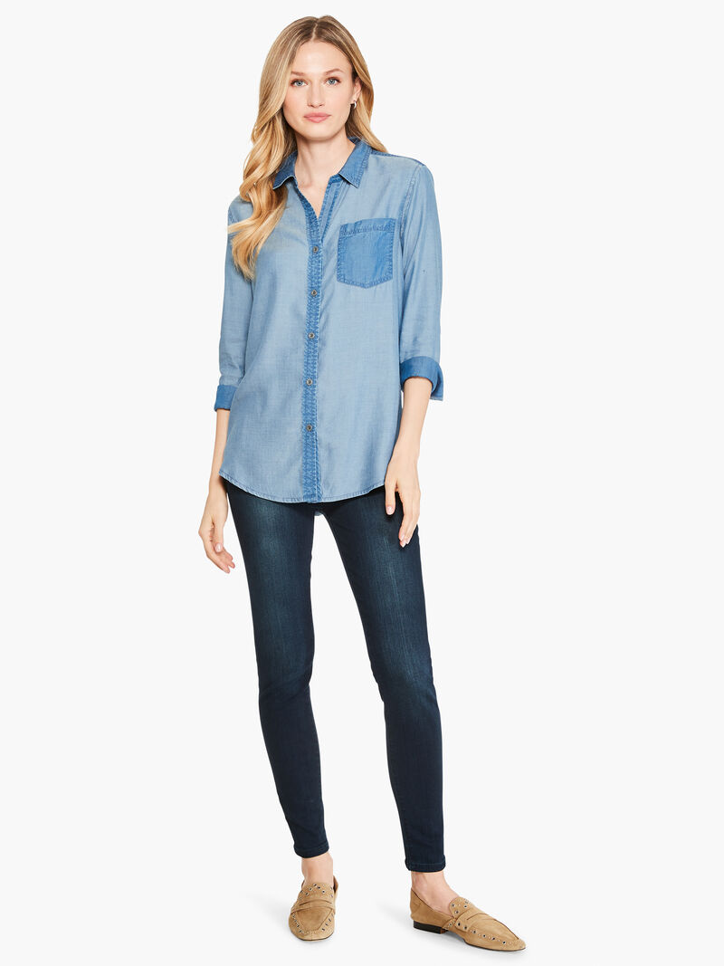 In And Out Chambray Shirt image number 3