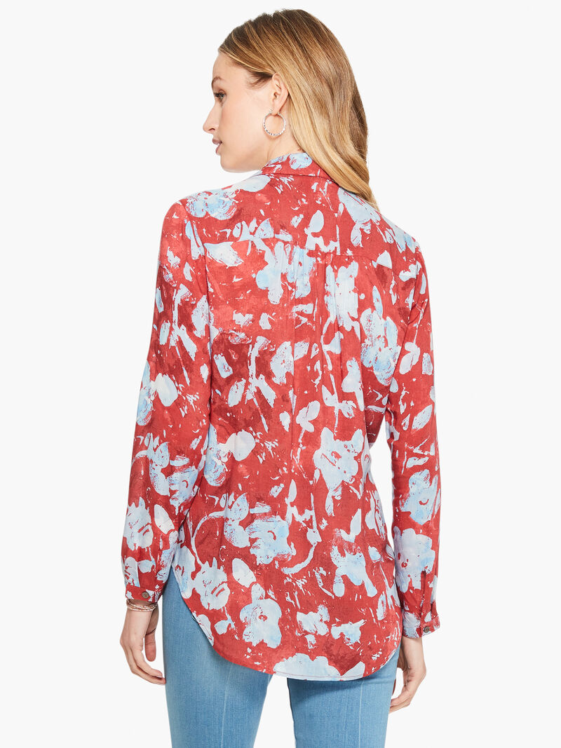 Terracotta Blooms Shirt image number 2