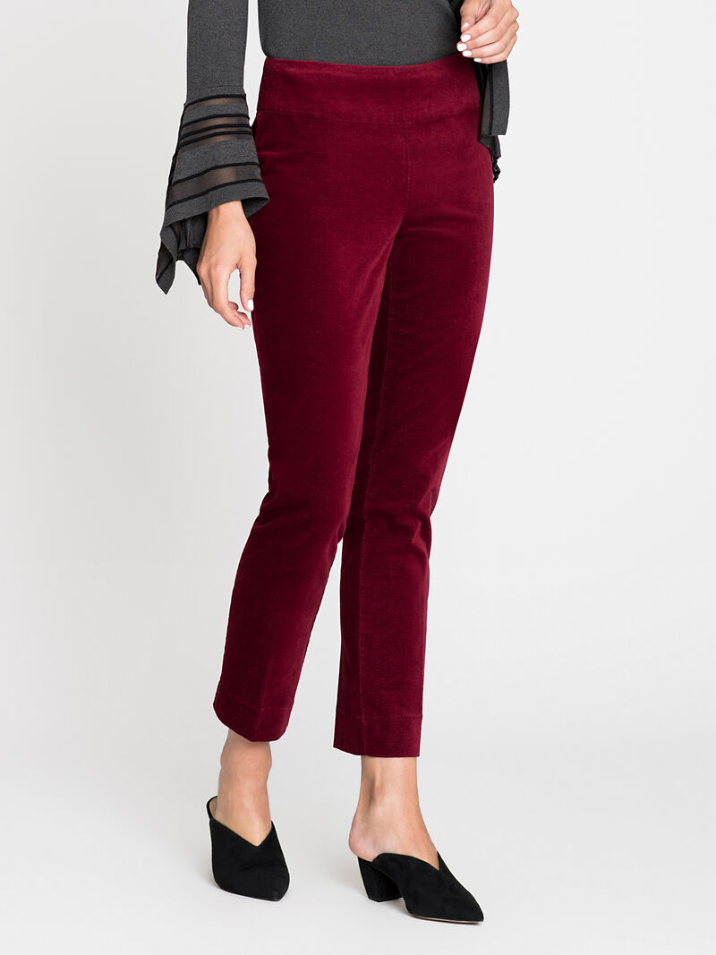 Velvet Side Zip Pant image number 2
