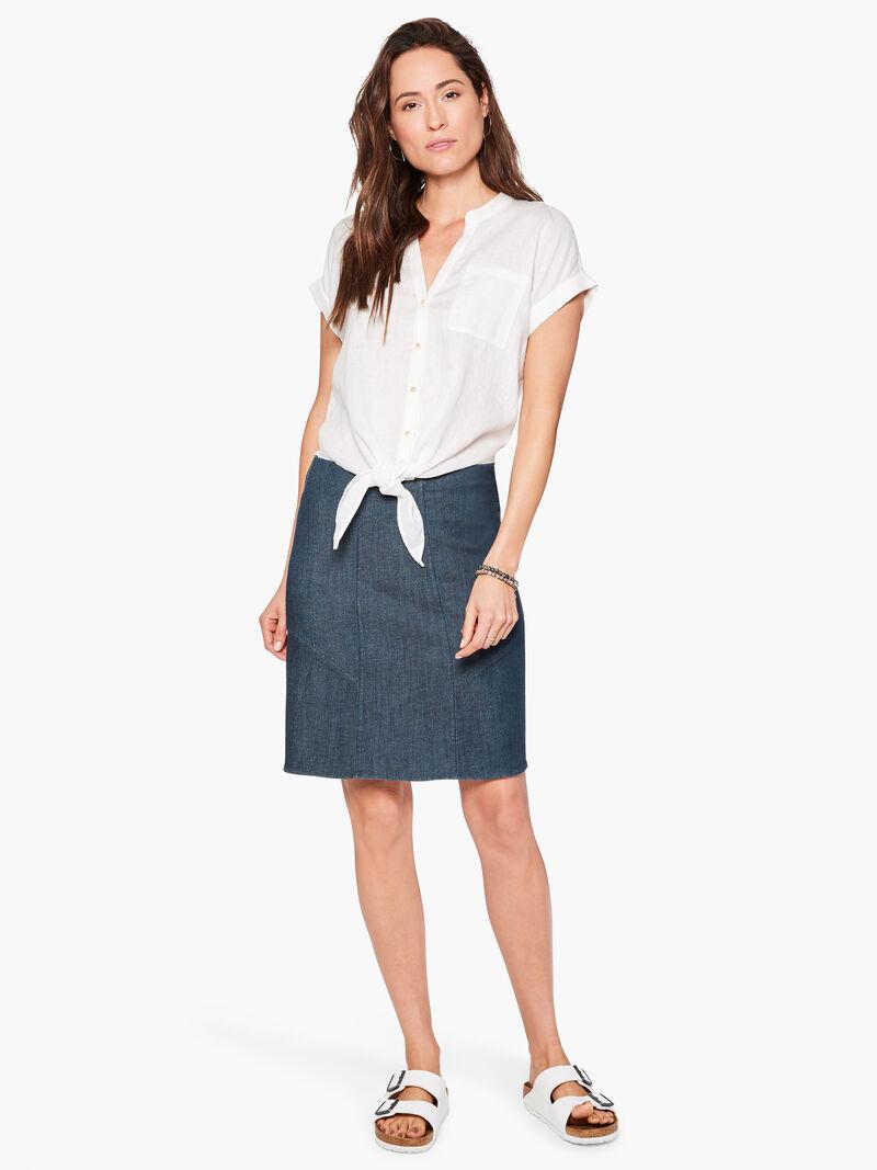 Seams To Be Denim Skirt