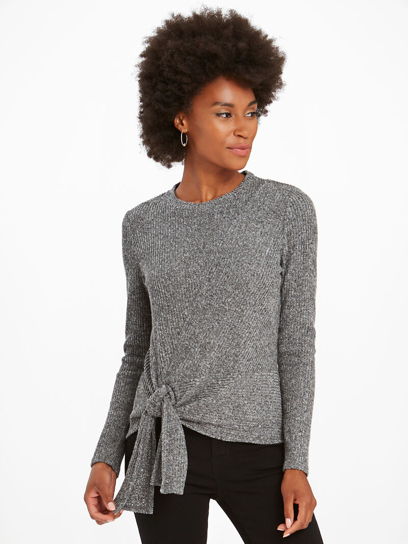 Cozy Aside Tie Top