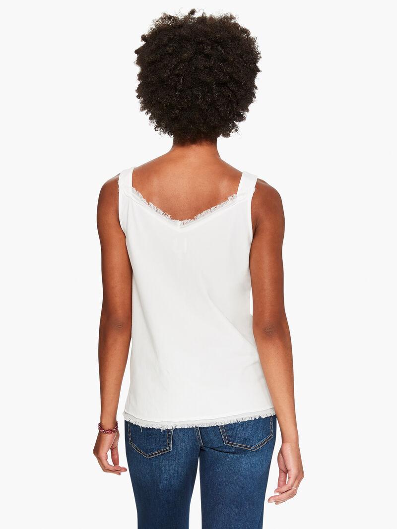 T-Shirt Fringe Cami image number 2