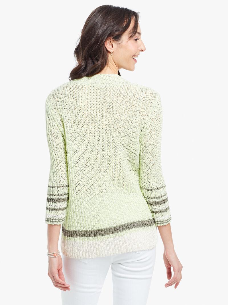 Magnolia Stripe Sweater image number 2