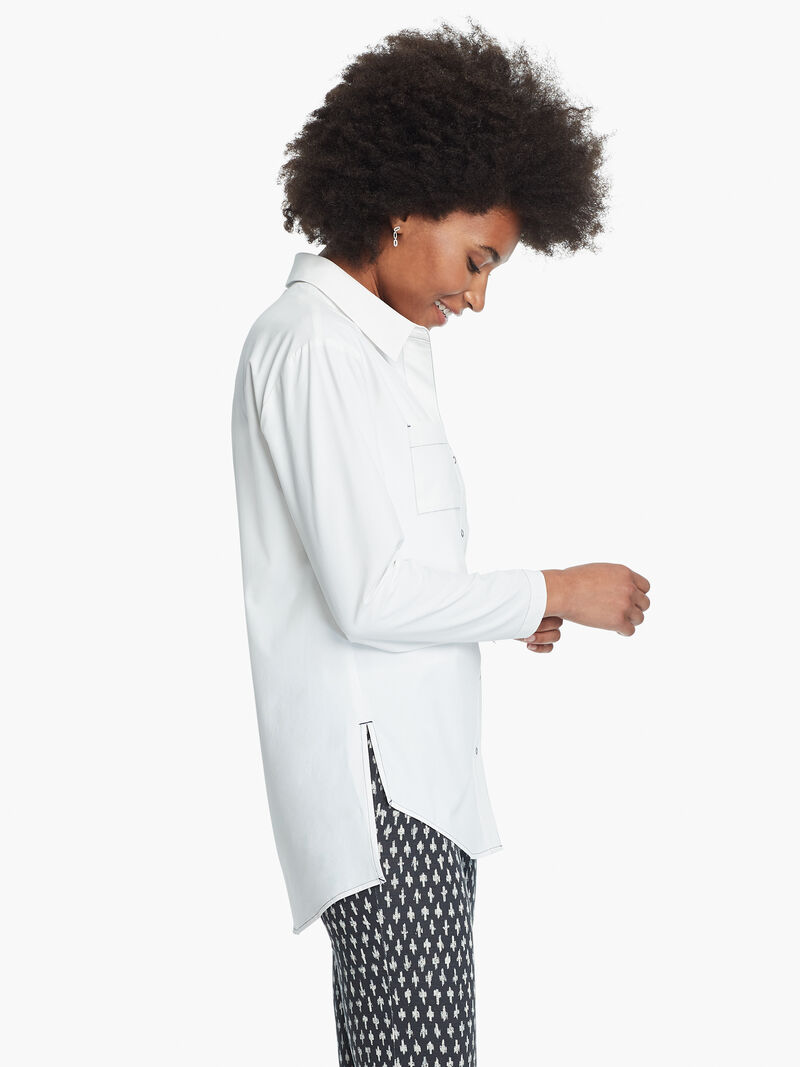 Tech Stretch Seam Detail Shirt