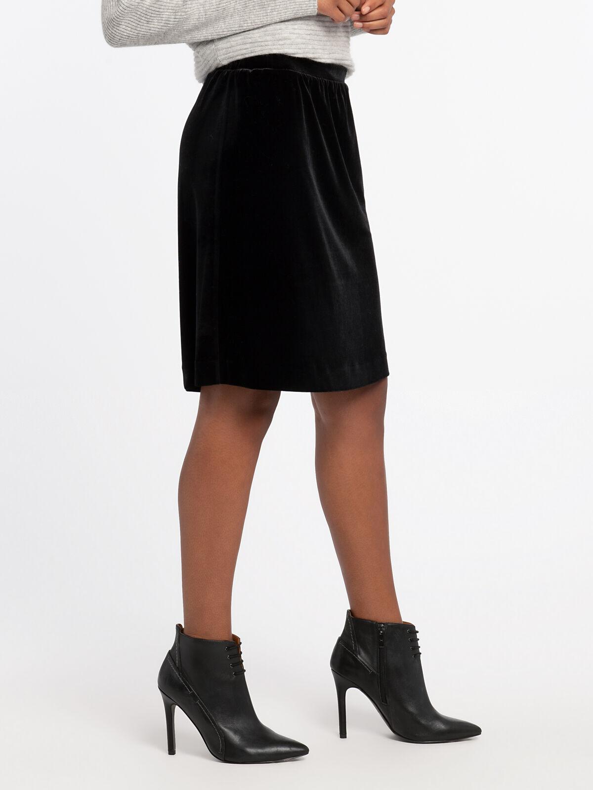 Darling Velvet Skirt