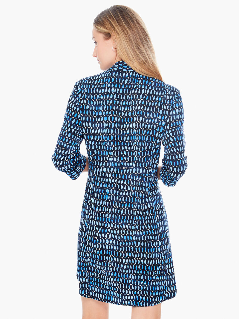Blue Mosaic Live In Dress image number 2
