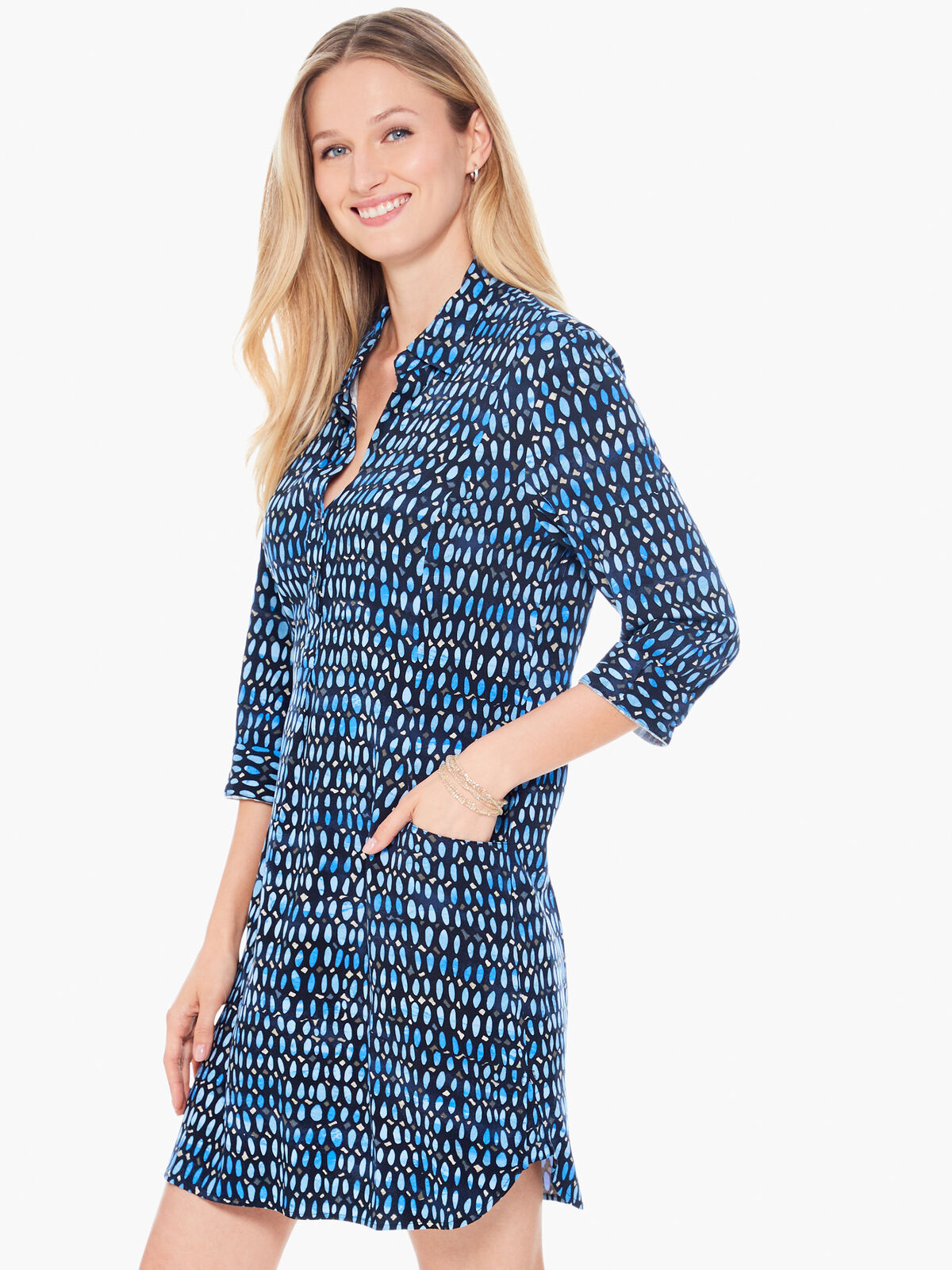 Blue Mosaic Live In Dress