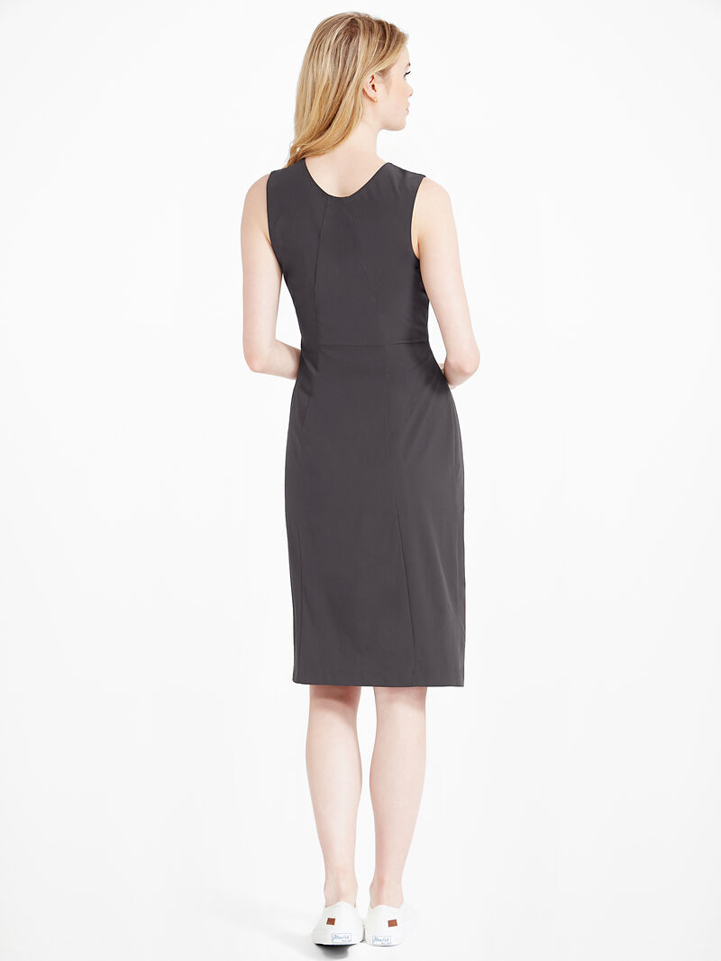 Tech Stretch Ruche Dress image number 3