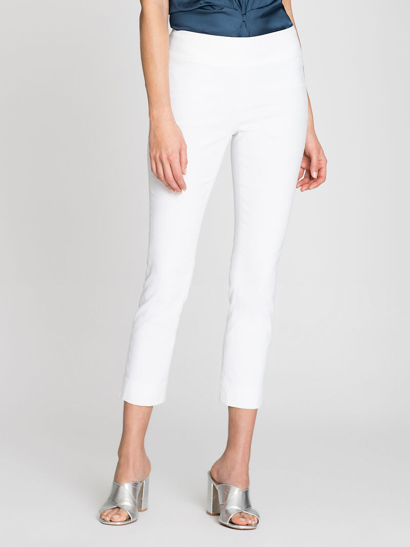 Polished Crop Wonderstretch Pant