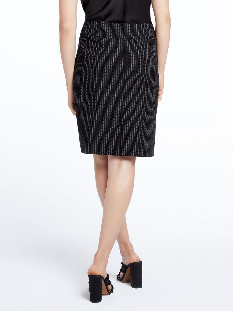 Broken Stripe Wonderstretech Skirt image number 3