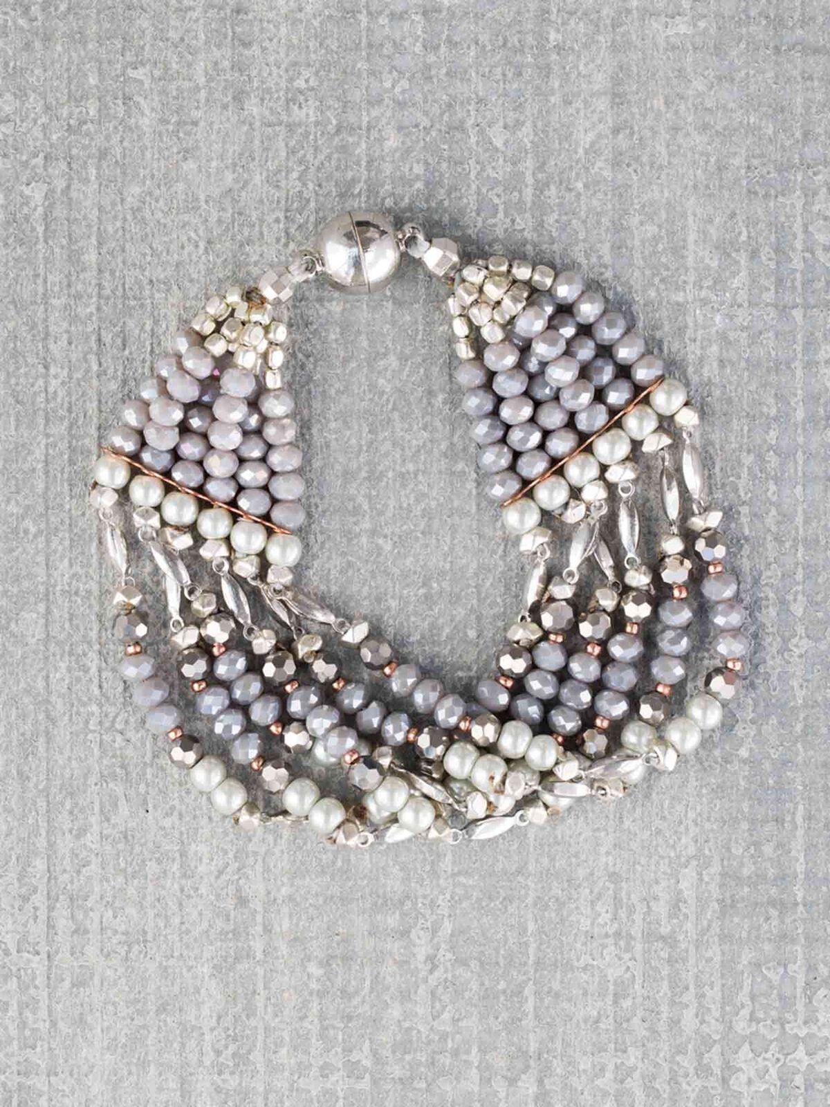 Nakamol Multi Strand Beaded Bracelet