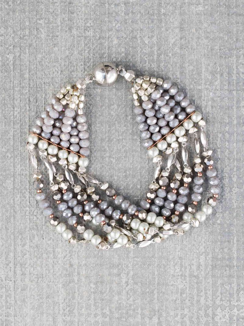 Nakamol Multi Strand Beaded Bracelet image number 0
