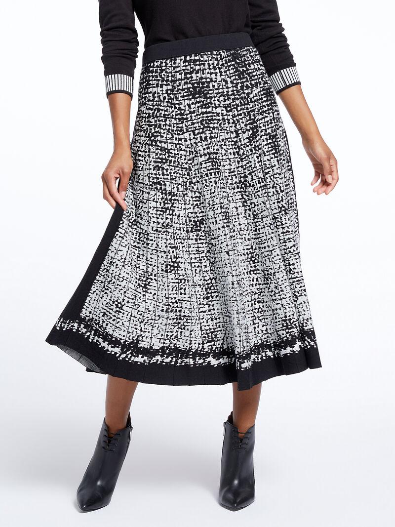 Marvel Jacquard Skirt