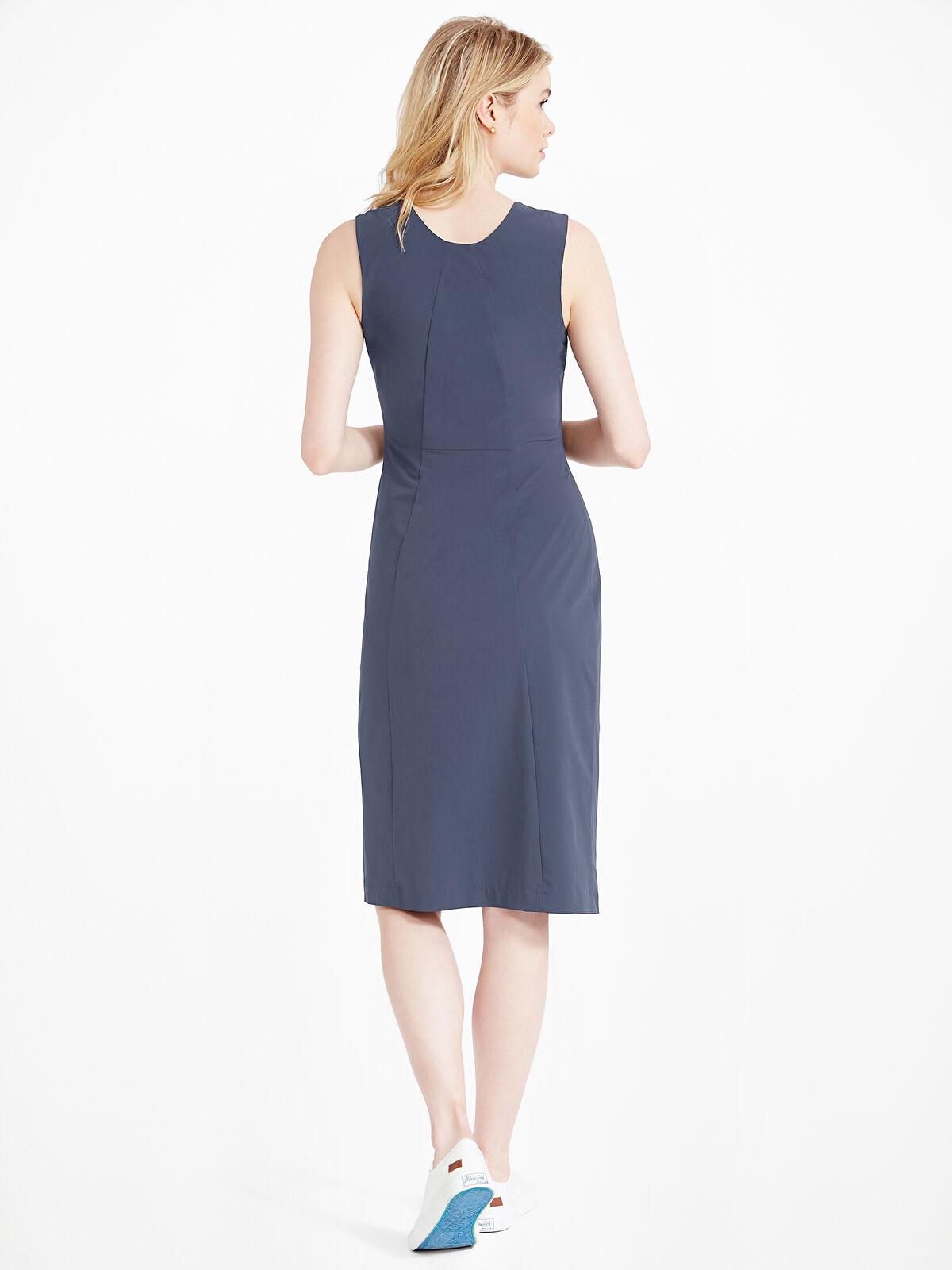 Tech Stretch Ruche Dress
