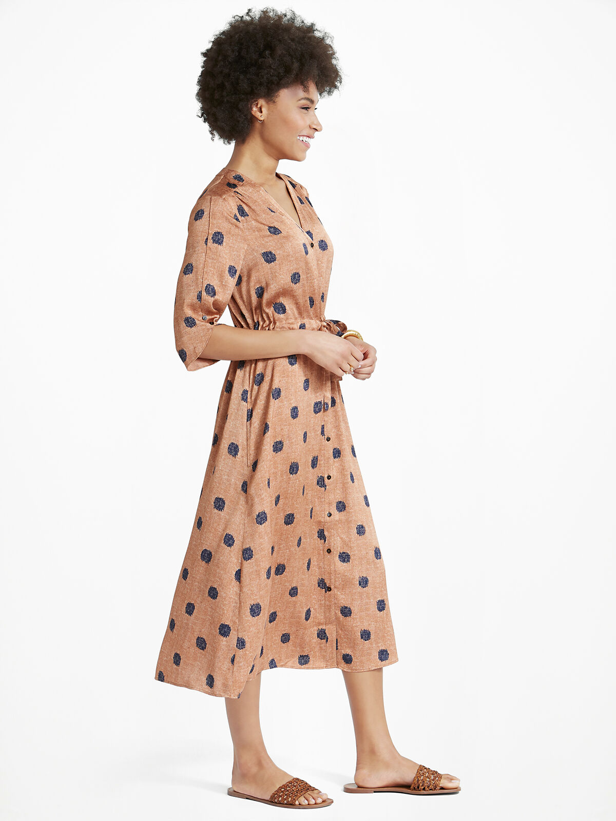 Bengal Shirt Dress