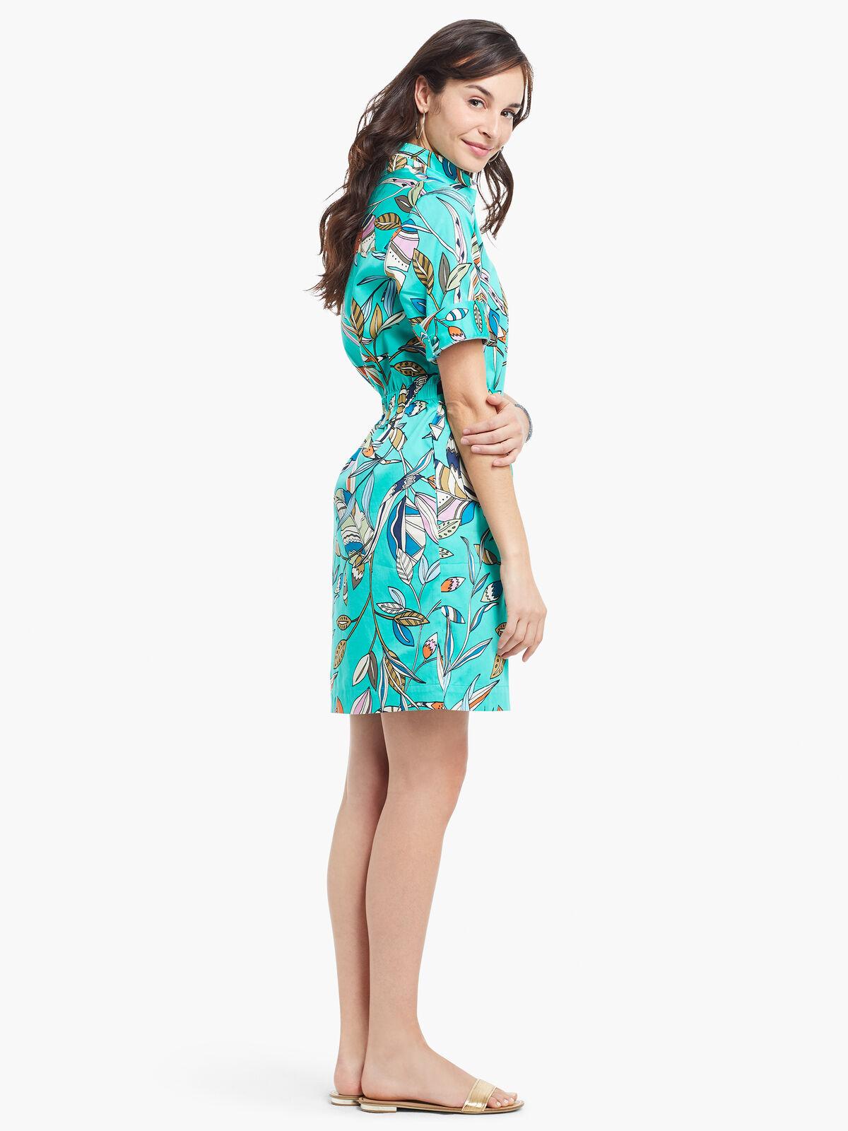 Riviera Botanic Shirt Dress
