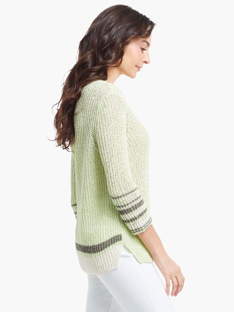 Magnolia Stripe Sweater