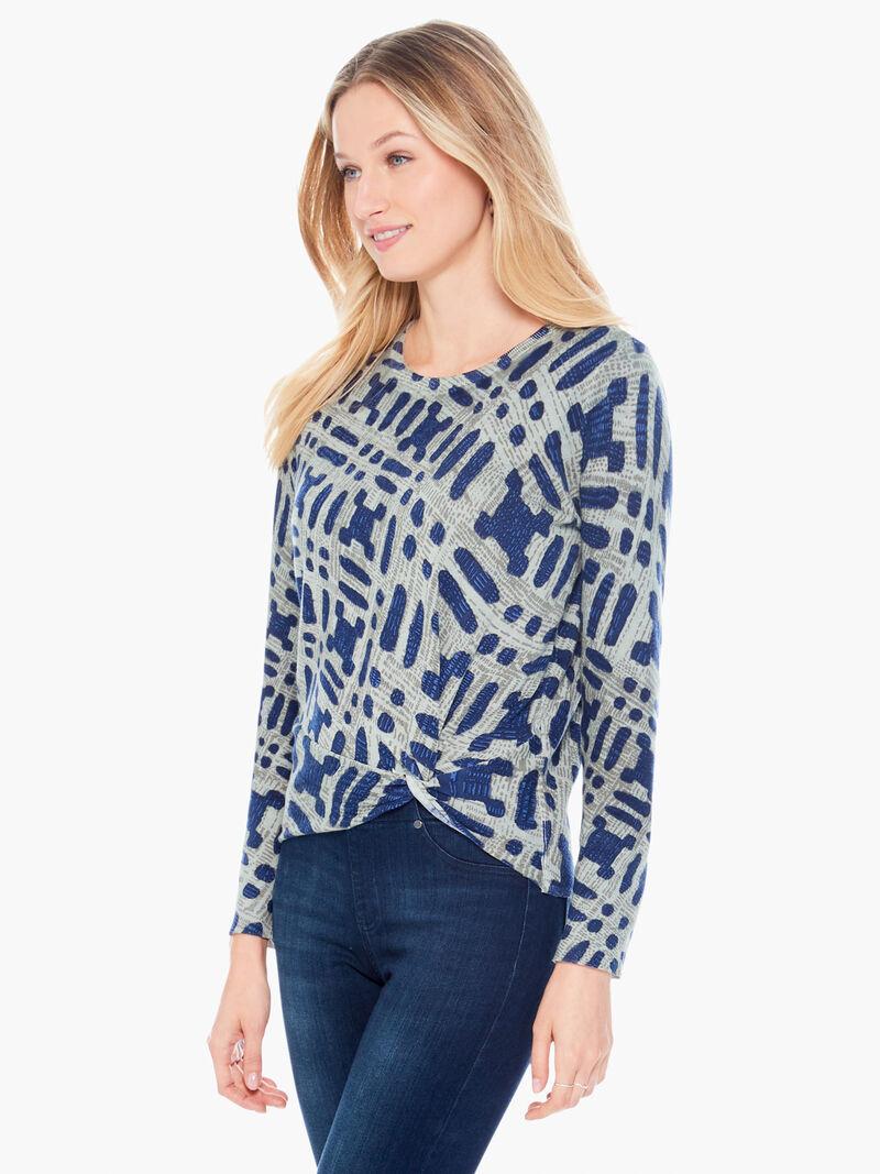 Ikat Camo Sweater image number 1