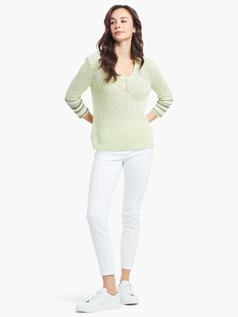 Magnolia Stripe Sweater image number 3