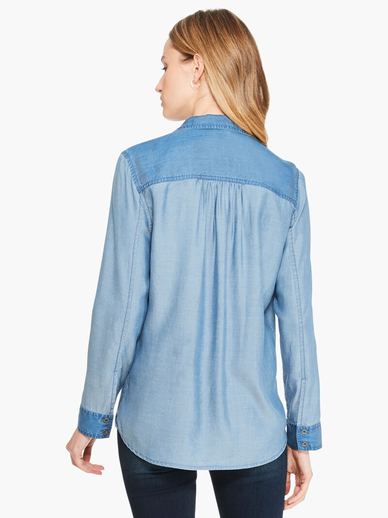 In And Out Chambray Shirt image number 2