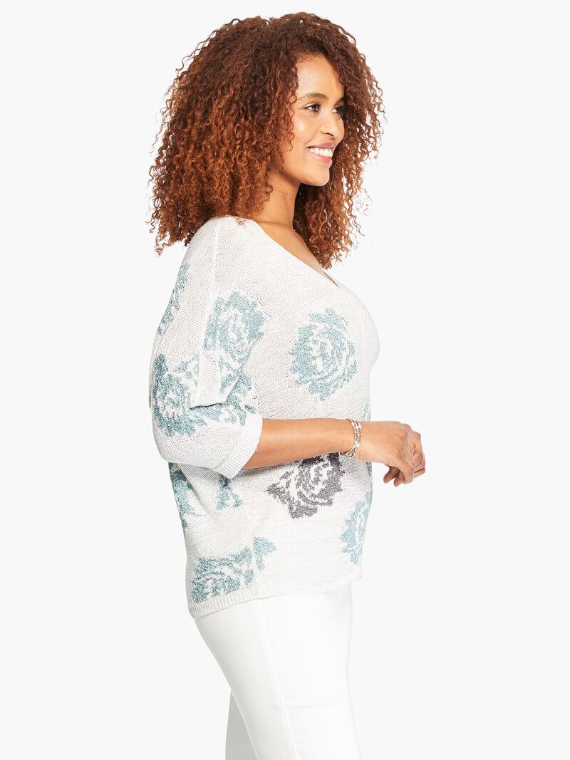Shimmer Bloom Sweater image number 2