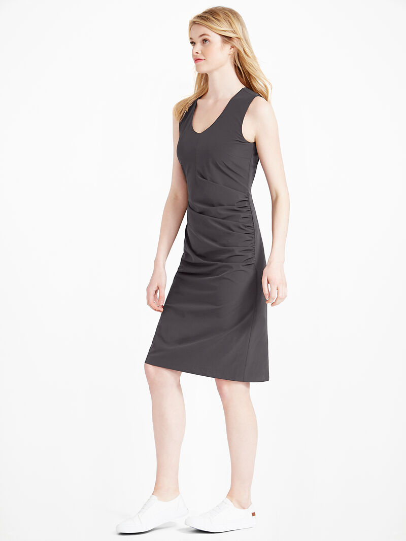 Tech Stretch Ruche Dress image number 2