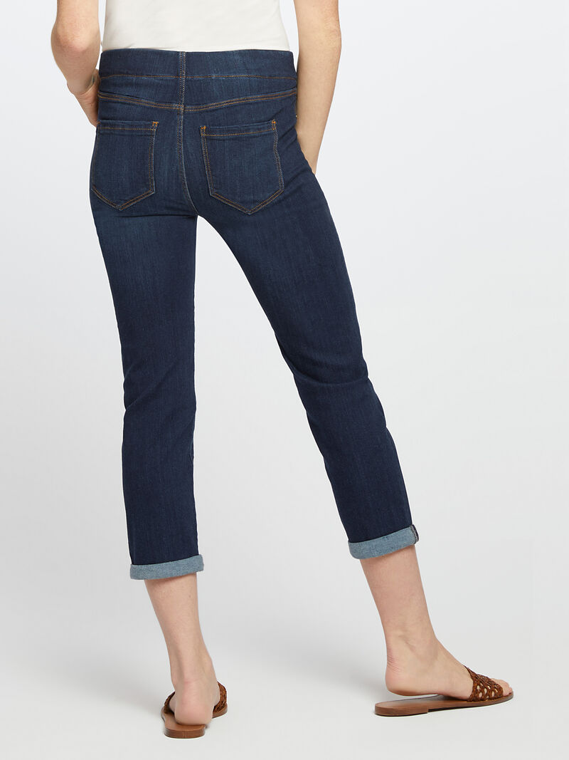 Liverpool - Chloe Crop Rolled Cuff Jean image number 3