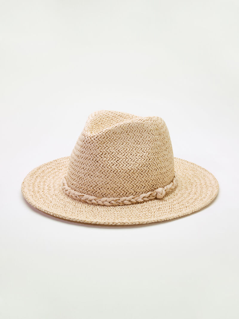 San Diego Hat Company Woven Fedora