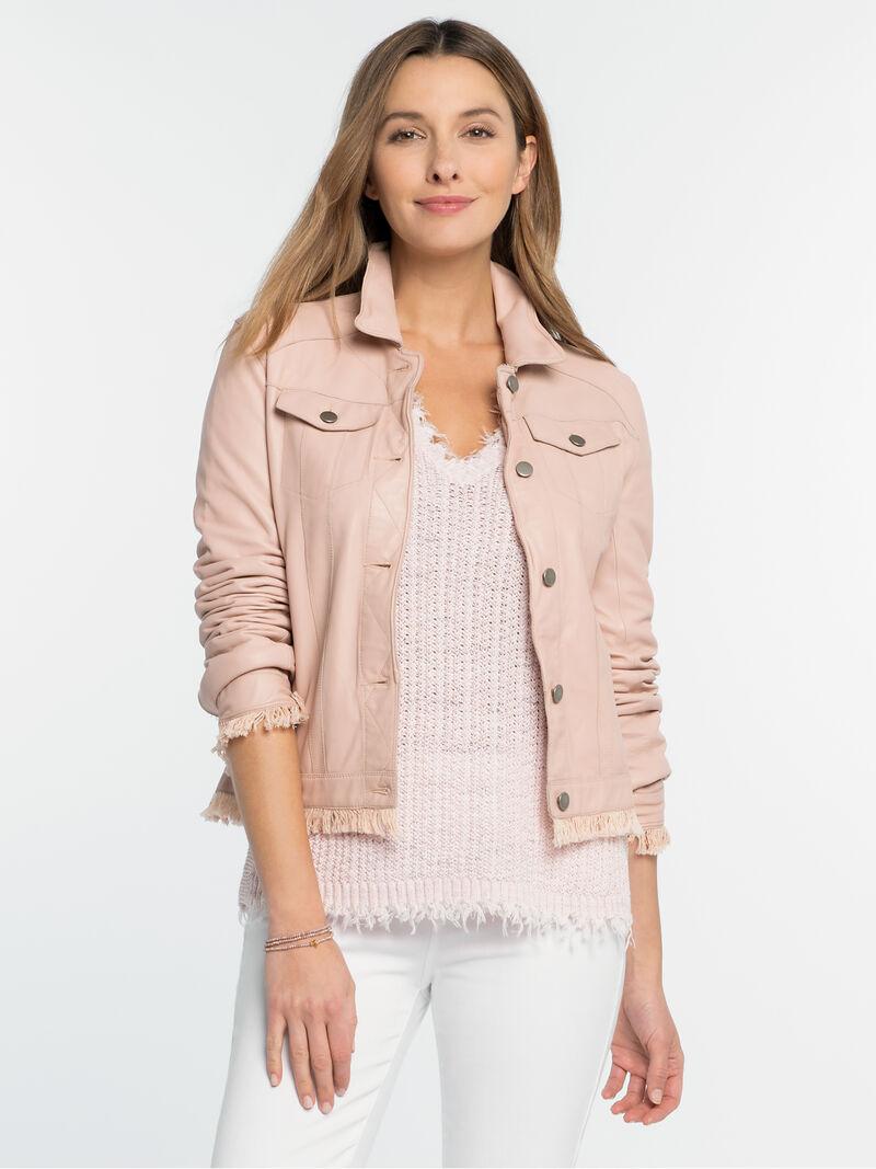 Alexa Washable Leather Jacket image number 0