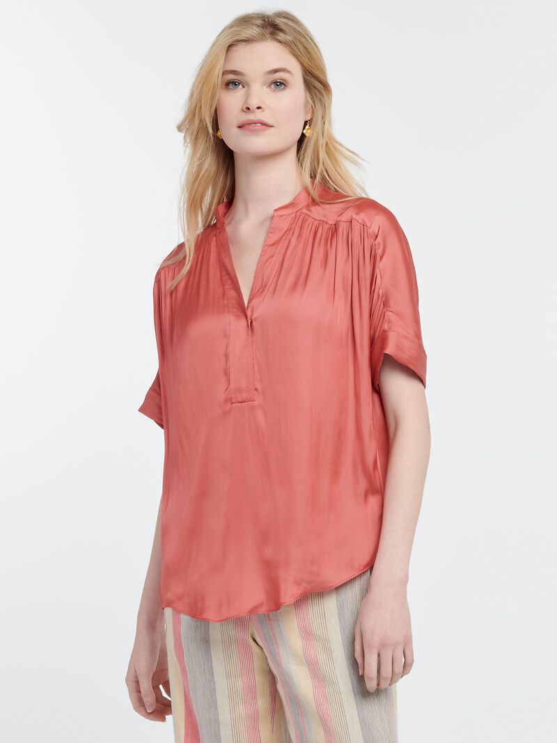 DESTINATION PEASANT BLOUSE image number 0