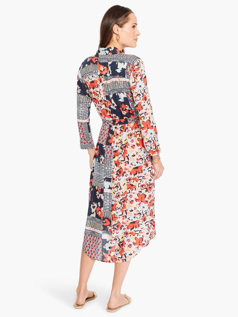 Mixed Up Blooms Shirt Dress image number 3