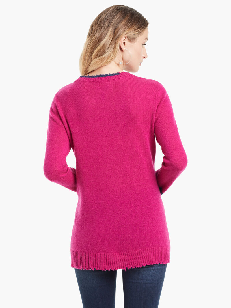 Colorblock Cashmere Sweater image number 2