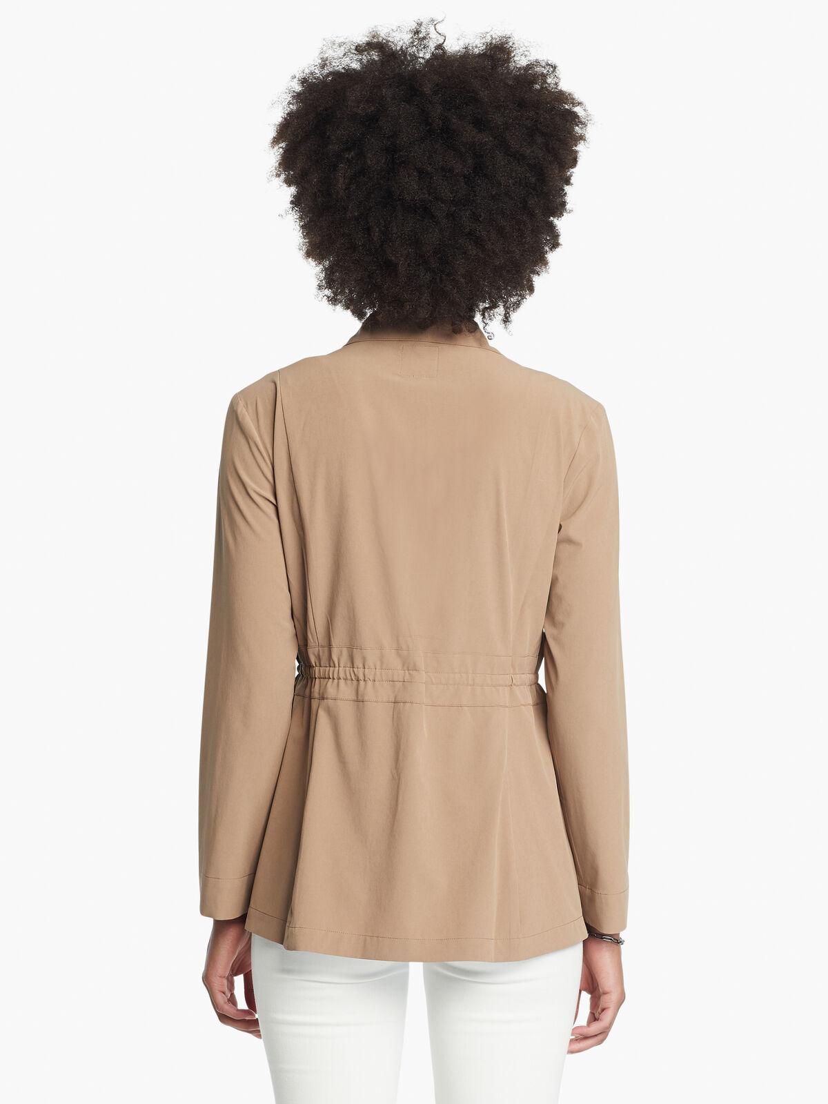 Tech Stretch Snap Front Jacket